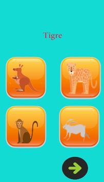 learn animal names in french screenshot 1