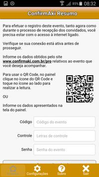 ConfirmAki Resumo apk screenshot