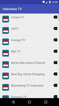 Indonesia TV free apk screenshot