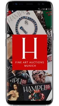 Hampel Kataloge poster