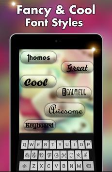 Nepali keyboard- My Photo themes,cool fonts &sound screenshot 11