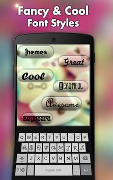 Nepali keyboard- My Photo themes,cool fonts &sound screenshot 2