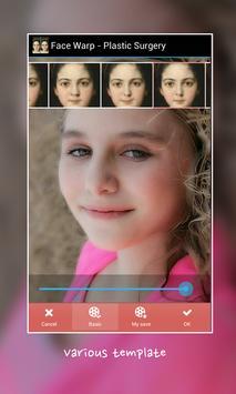 Face Warp - Plastic Surgery screenshot 3