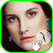 Piercing Photo Maker icon