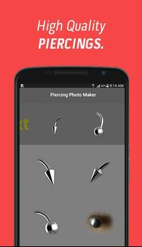 Piercing Photo Maker apk screenshot