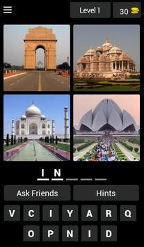 4 Pictures 1 word quiz 2018 poster