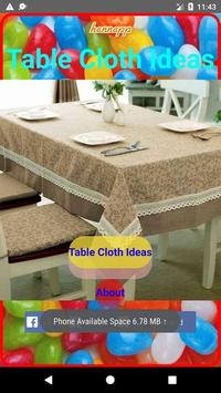 Tablecloth Design poster