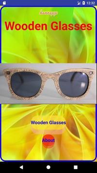 Wooden Glasses poster