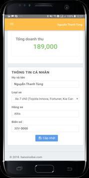 Tài Xế - Hà Nội Nội Bài - Taxi Nội Bài screenshot 3