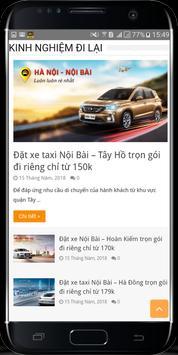 Taxi Nội Bài - Xe đi Nội Bài - Đặt xe Nội Bài screenshot 4