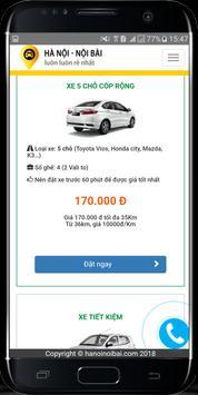 Taxi Nội Bài - Xe đi Nội Bài - Đặt xe Nội Bài screenshot 1