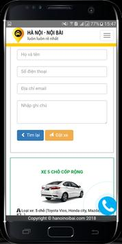 Taxi Nội Bài - Xe đi Nội Bài - Đặt xe Nội Bài screenshot 2