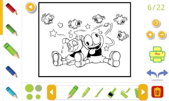 cuphead coloring book Screenshot 2