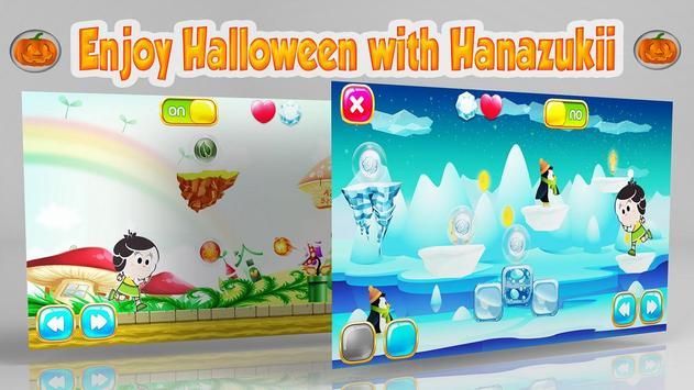 Hanazukii Halloween Trip poster