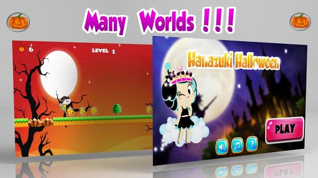 Hanazukii Halloween Trip apk screenshot