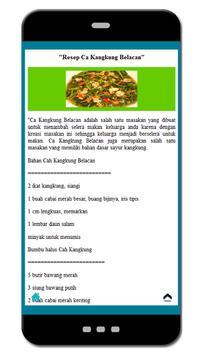 Resep Sayuran Lezat Nusantara screenshot 1