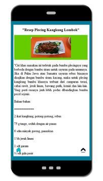 Resep Sayuran Lezat Nusantara screenshot 2