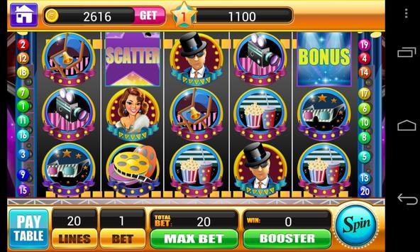 Slots of Hollywood apk screenshot