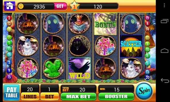 Alice in Magic World Slots apk screenshot