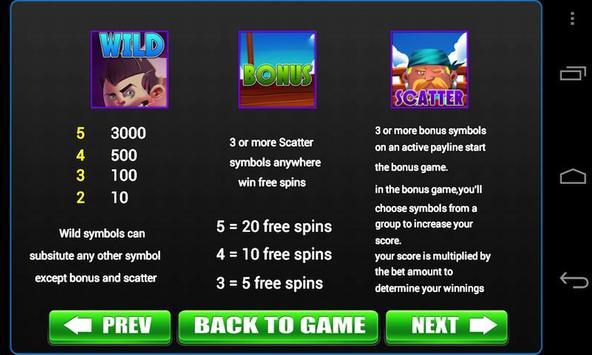 Slots of Caribbean Pirate apk screenshot