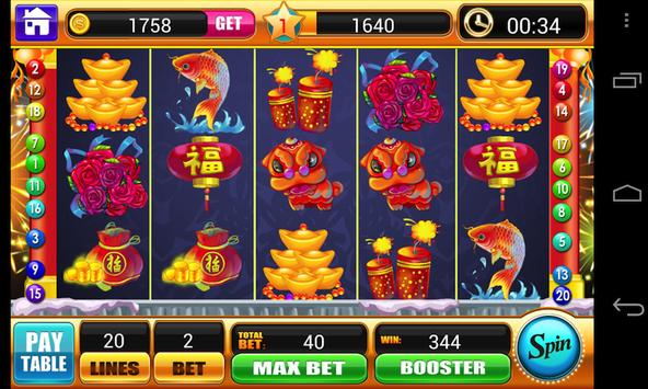 Lunar New Year Slots Machine screenshot 3