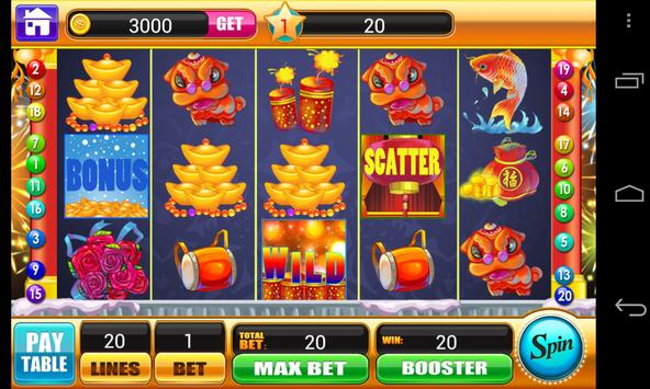 Lunar New Year Slots Machine screenshot 10