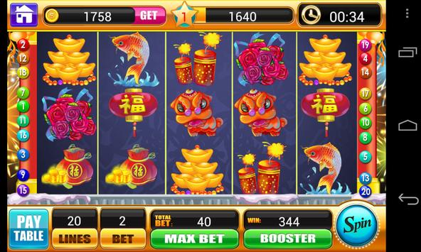 Lunar New Year Slots Machine screenshot 13