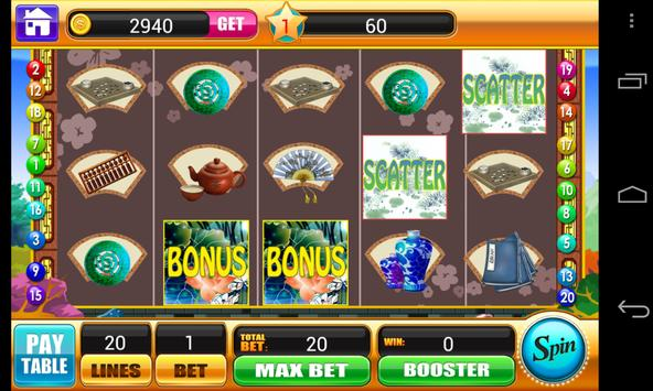 Ancient China Slots Machine apk screenshot