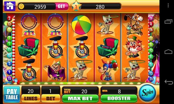 Circus Slots - Slot Machines poster