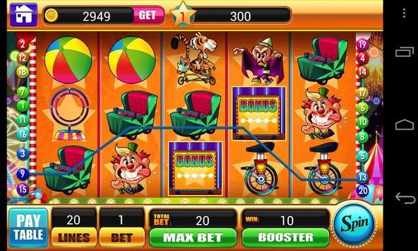 Circus Slots - Slot Machines apk screenshot