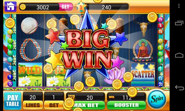 Tibet Buddha Slots Machine apk screenshot