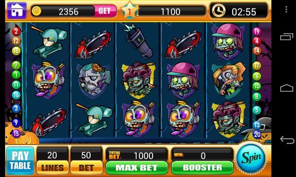 Zombie Slots - Slot Machine apk screenshot