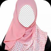 Colorful Hijab Photo Frames icon