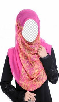 Colorful Hijab Photo Frames screenshot 3
