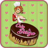 Cake Design Game icon
