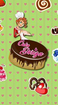 Cake Design Game poster