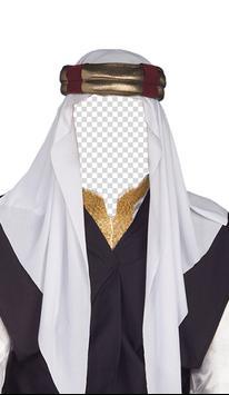 Arab Man Suit Fashion Photo Frames screenshot 3