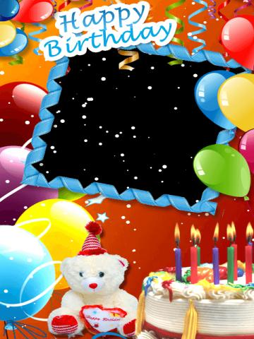 Birthday Card Photo Editor Screenshot 4