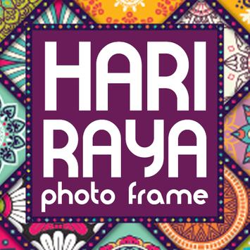 Hari Raya Photo Frame Maker poster