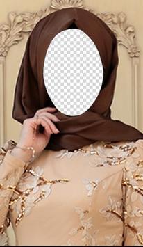 Hijab Fashion Style Photo Maker poster