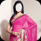 Indian Woman Saree Photo Frames icon