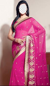 Indian Woman Saree Photo Frames screenshot 4