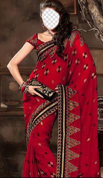 Indian Woman Saree Photo Frames poster