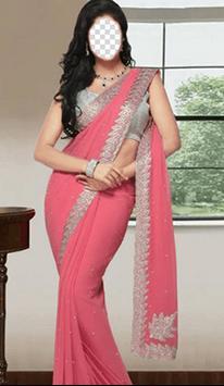 Indian Woman Saree Photo Frames screenshot 3