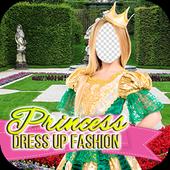 Princess Dress Up Fashion Photo Frames icon