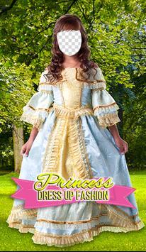 Princess Dress Up Fashion Photo Frames poster