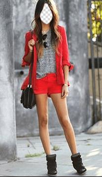 Woman Street Style Photo Frames screenshot 1
