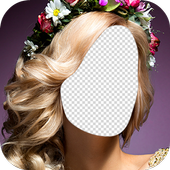 Wedding Hairstyle Changer Photo Frames icon