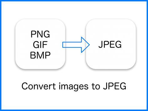 JPEG Converter-PNG/GIF to JPEG poster