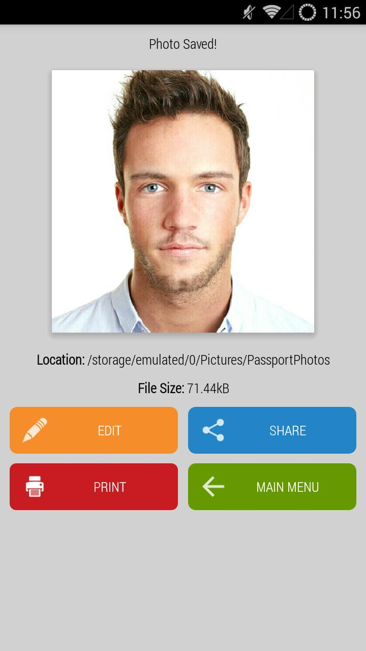 Passport visa id photo studio: ready print copy for android apk.